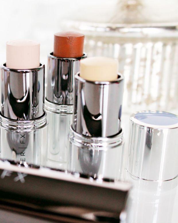 Cover FX Click Stick makeup system_corrector, foundation, click stick