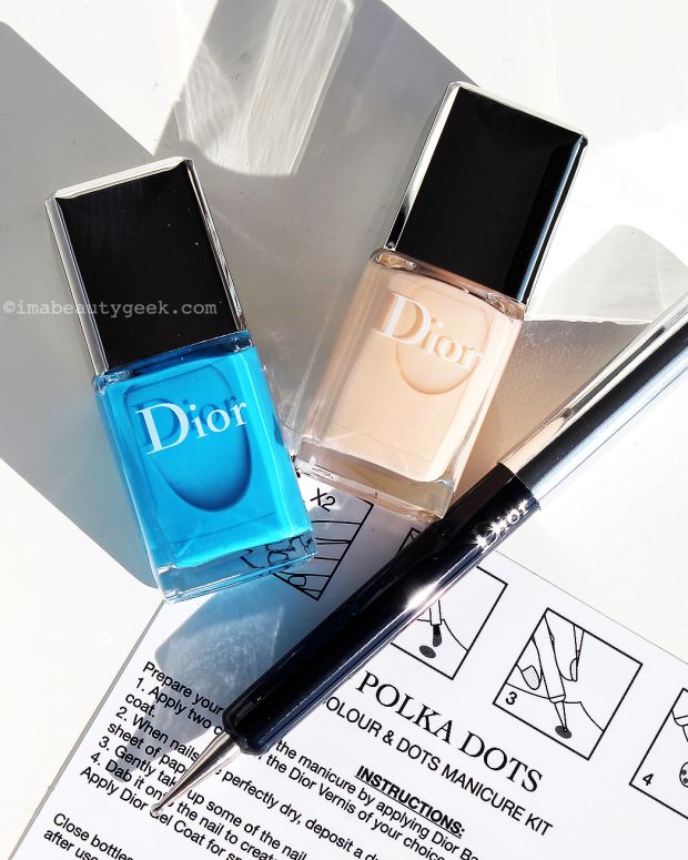 Dior Polka Dots Colour & Dots Manicure Kit in 001 Pastilles