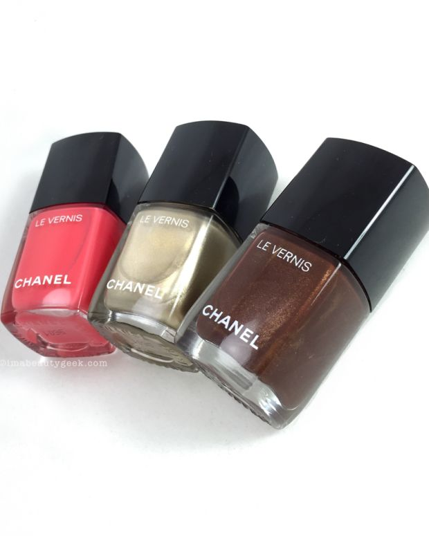 Chanel Summer 2016 Vernis Swatches Review