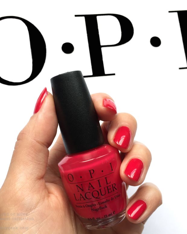 OPI Wanted Red or Alive_OPI Wild West Collection 1999 - Version 2