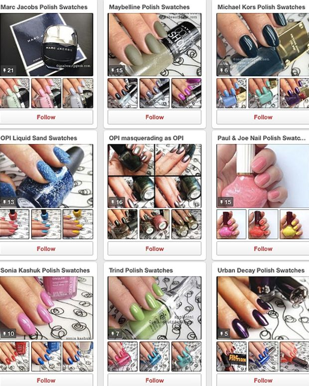 ManiGeek Pinterest Picto-Pedia of Nail Polish