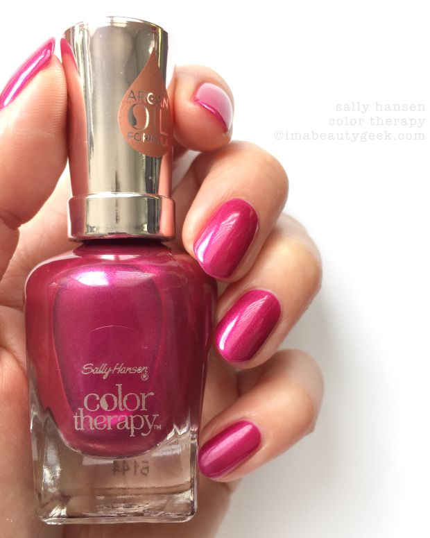 Sally Hansen Color Therapy Review Swatches