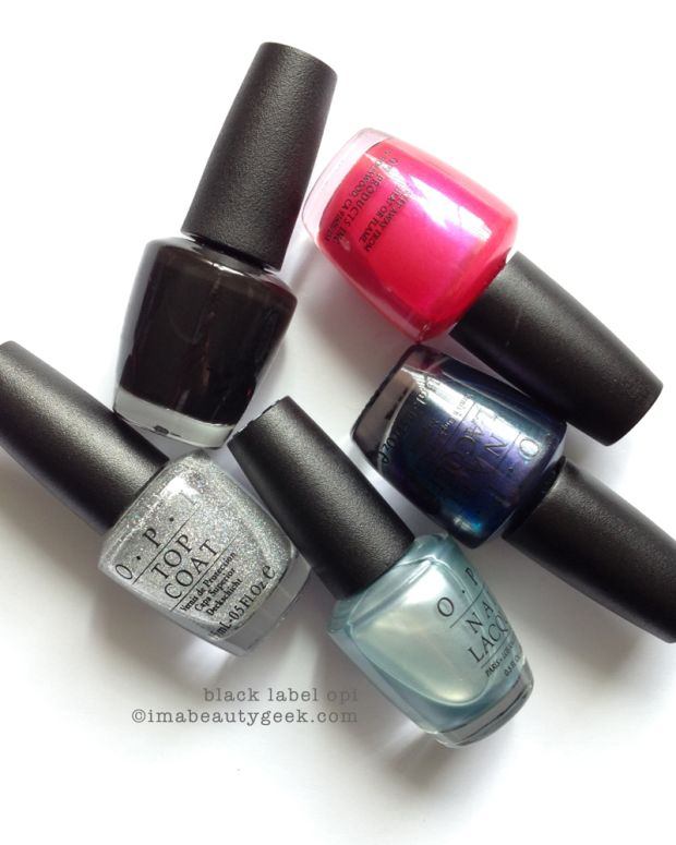 TBT #5 My Favourite Black Label OPI Polishes