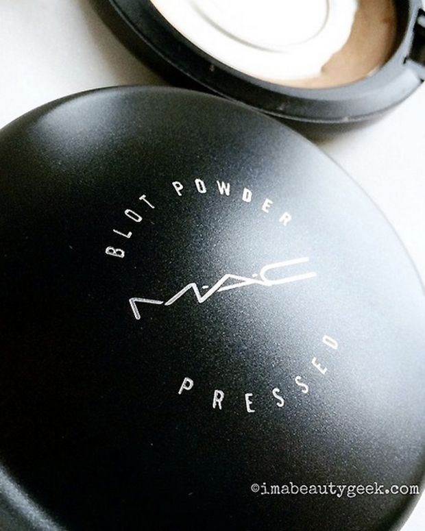 MAC Blot Powder Pressed_my eyeshadow primer
