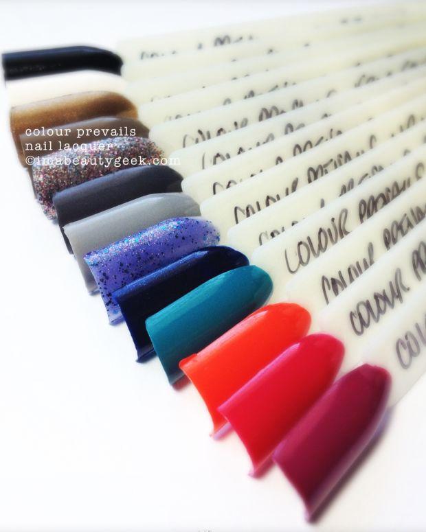 Colour Prevails Nail Polish Header