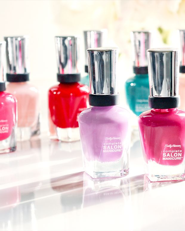 Sally Hansen Complete Salon Manicure summer 2015 collection
