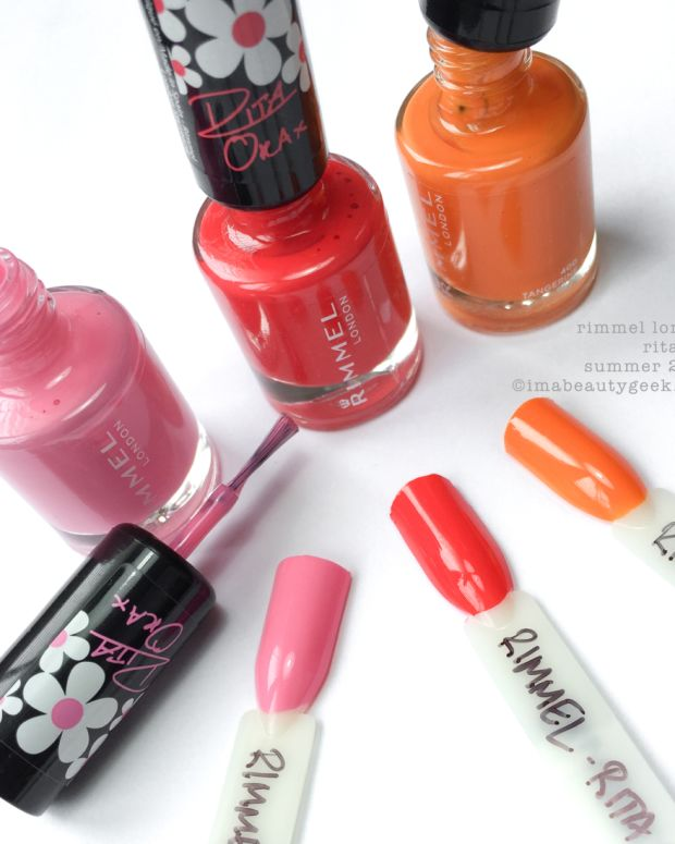 Rimmel Rita Ora Nail Polish Collection Summer 2015 Beautygeeks