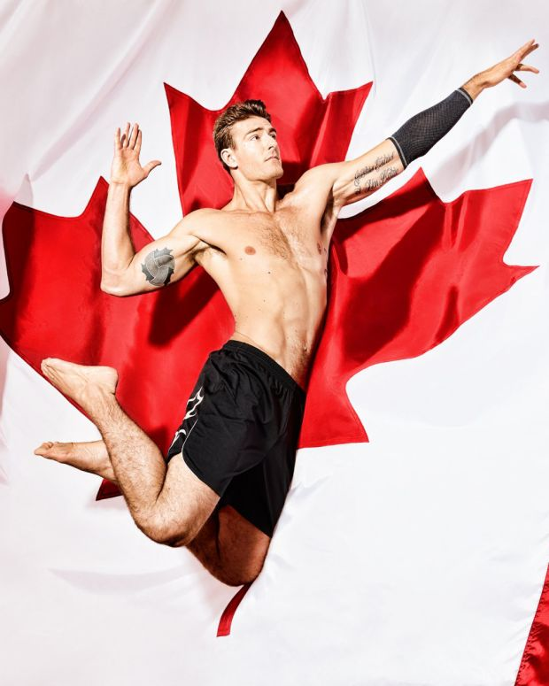 hot canadian athletes_dan lim photographer series to raise $ for our future Olympians