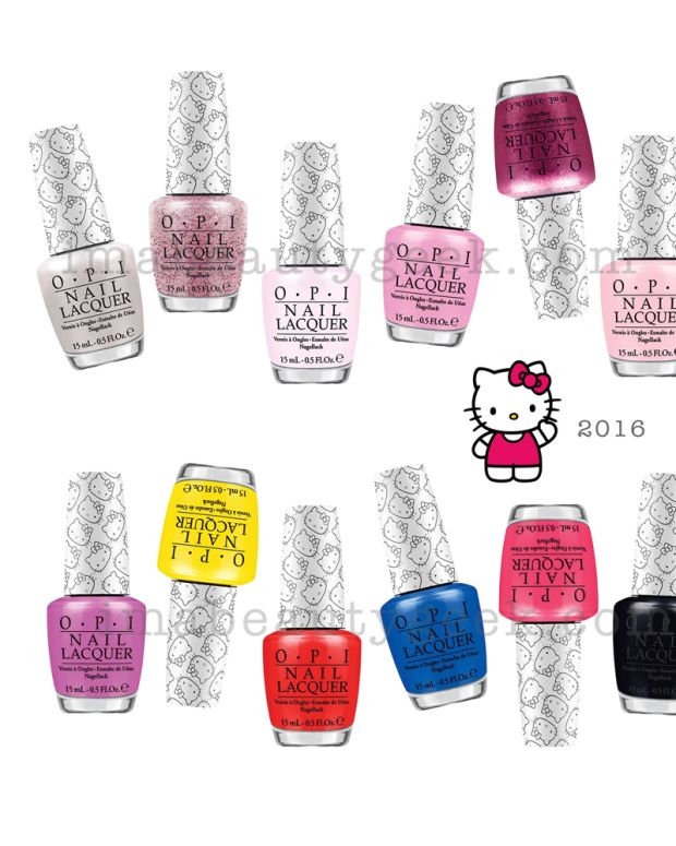 OPI Hello Kitty Collection 2016 Beautygeeks Header