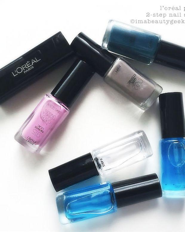 L'Oreal Paris Infallible 2-Step Nail Colour