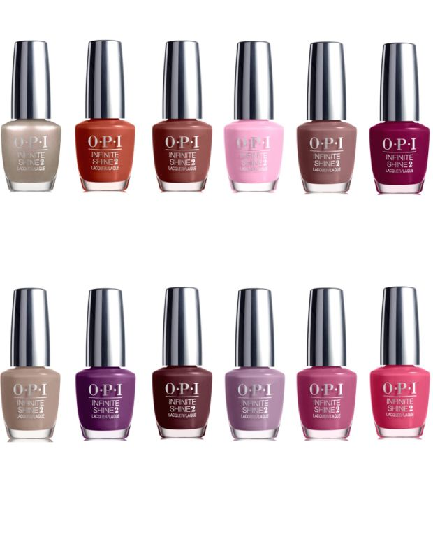 OPI Infinite Shine Fall 2015 Swatches Review