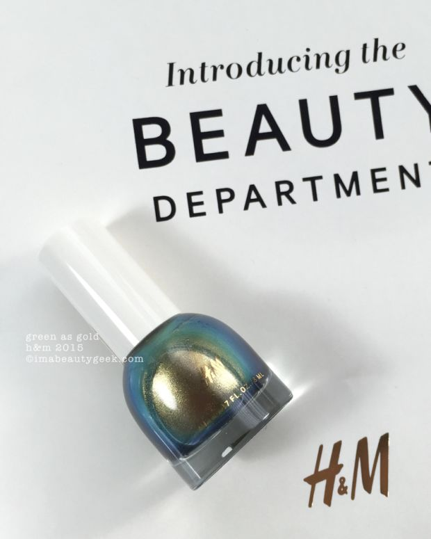 HM Nail Polish Swatches by Manigeek_HM Beauty Department