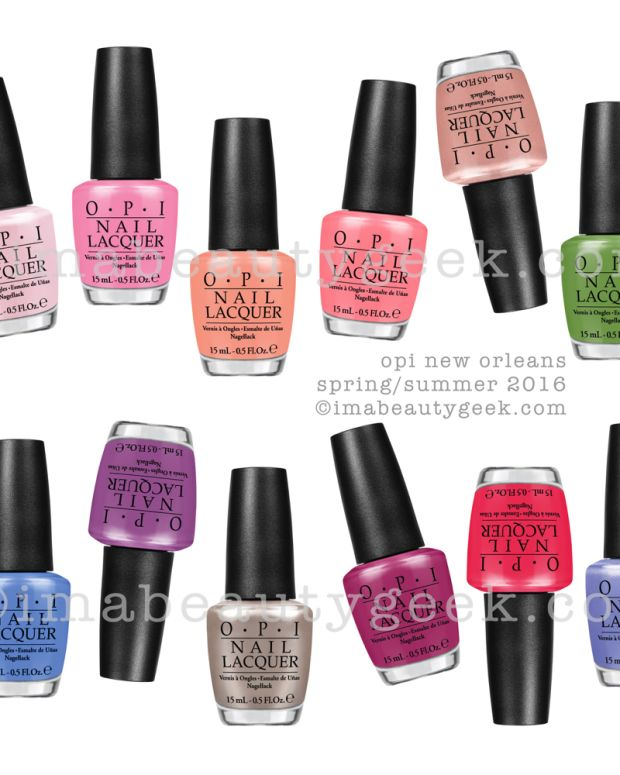 OPI New Orleans 2016 Beautygeeks