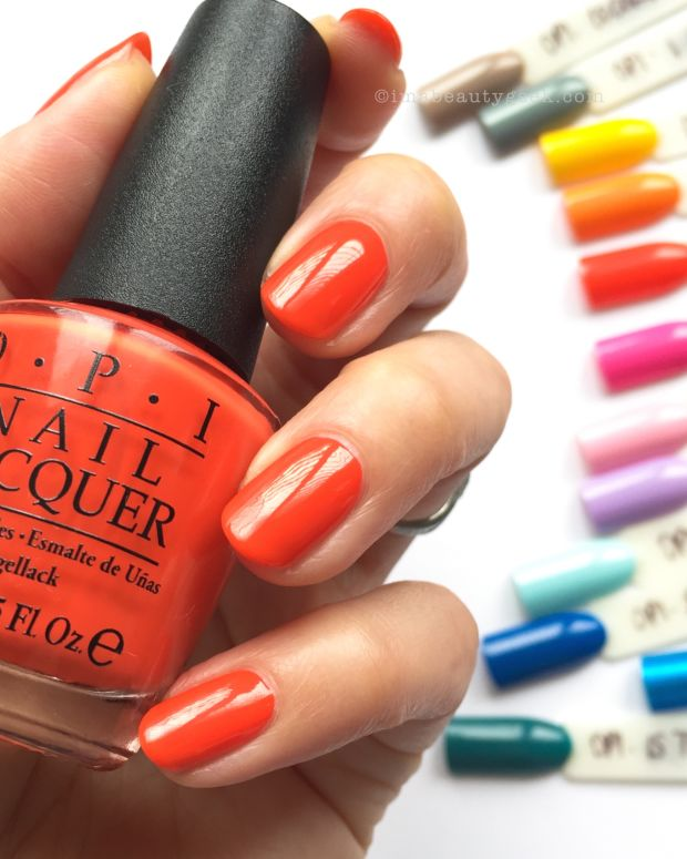 OPI Fiji Swatches Review 2017 Beautygeeks Guide