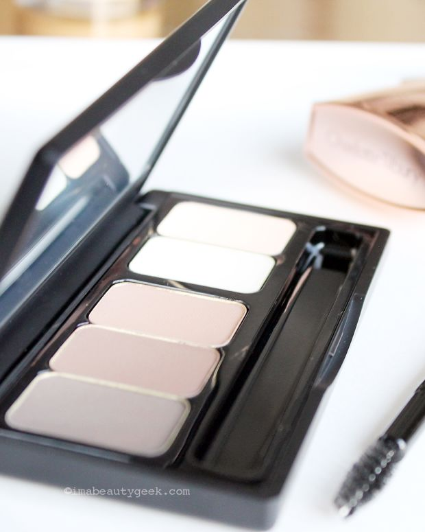 Make Up For Ever Pro Sculpting Brow Palette (has the best mini brow brush ever)
