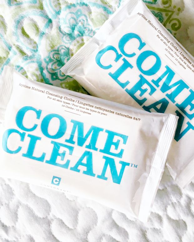 Consonant Come Clean Cleansing Wipes_biodegradeable