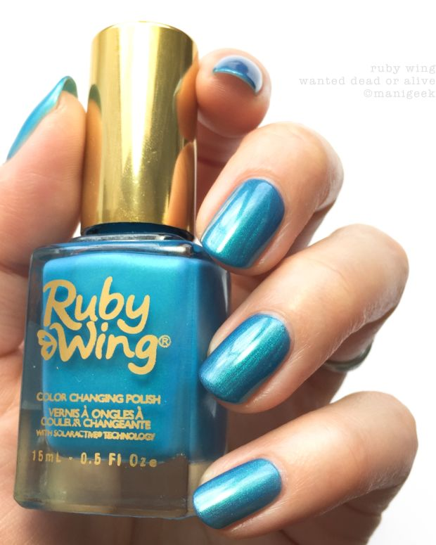 Ruby Wing Wanted Dead or Alive Color Changing Nail Polish