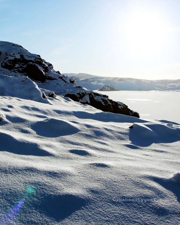 How to stop hot flashes in their tracks: Iceland in winter