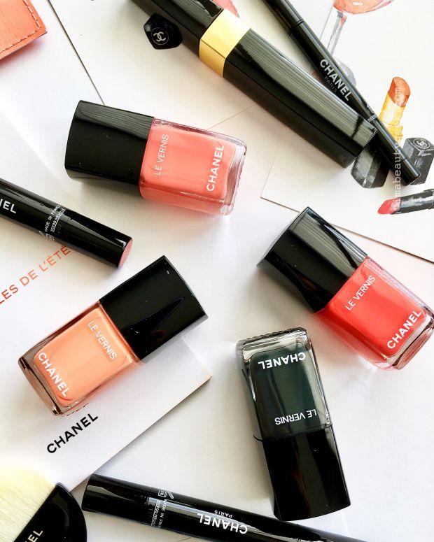Chanel Summer 2017 nail polish shades