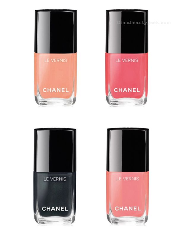 Chanel Cruise Summer 2017 Le Vernis Swatches
