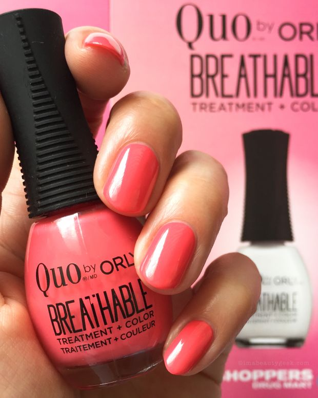 Orly Breathable Nail Polish Swatches and Review