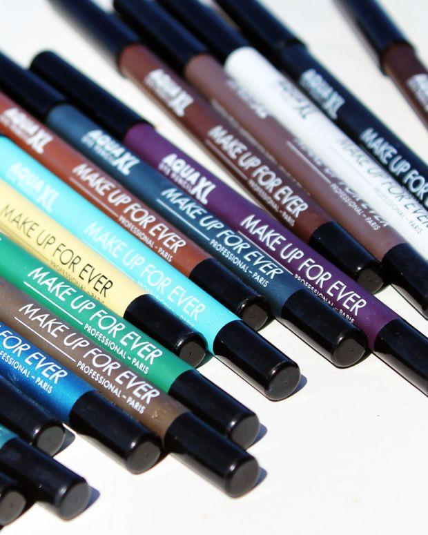 Make Up For Ever Aqua XL waterproof pencil eyeliners.jpg