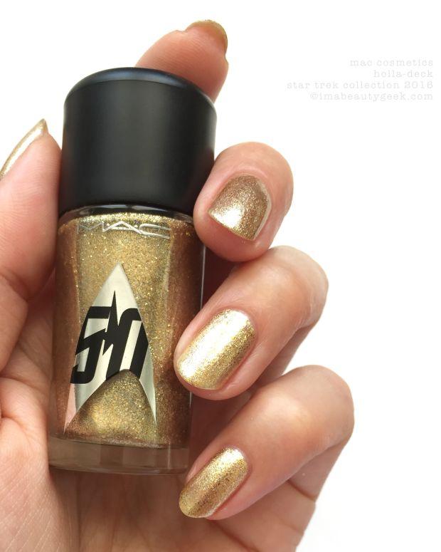 MAC Star Trek Collection Holla Deck Nail Polish_MAC Cosmetics Holla Deck 2016 Header