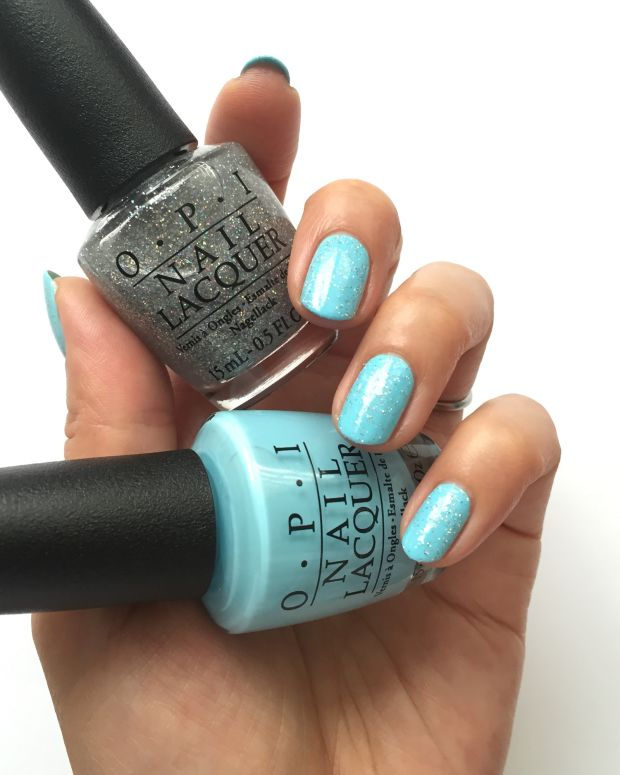 OPI Breakfast at Tiffanys Collection Swatches Review Comparisons_OPI I Believe in Manicures