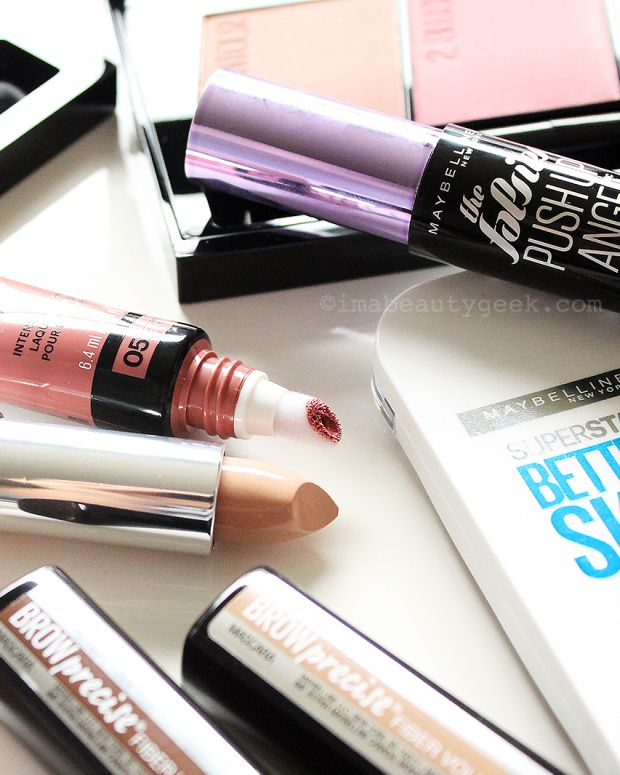 Maybelline No-Makeup Makeup products