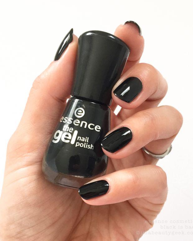 Essence Nail Polish Black is Back_Essence Cosmetics The Gel Nail Polish 2016 - Version 2