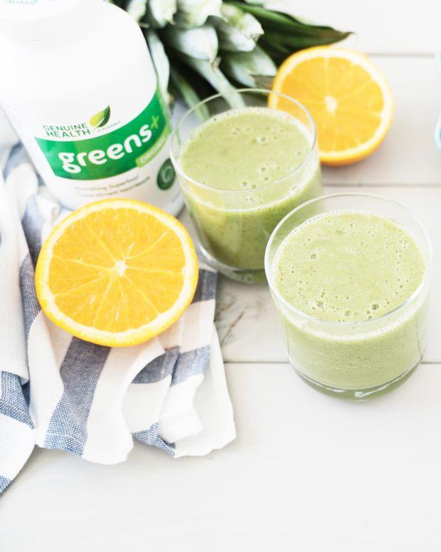 greens+ beach smoothie