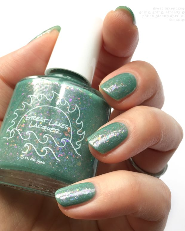 Polish Pickup April 2018 Great Lakes Lacquer Going Going Already Gone PPU