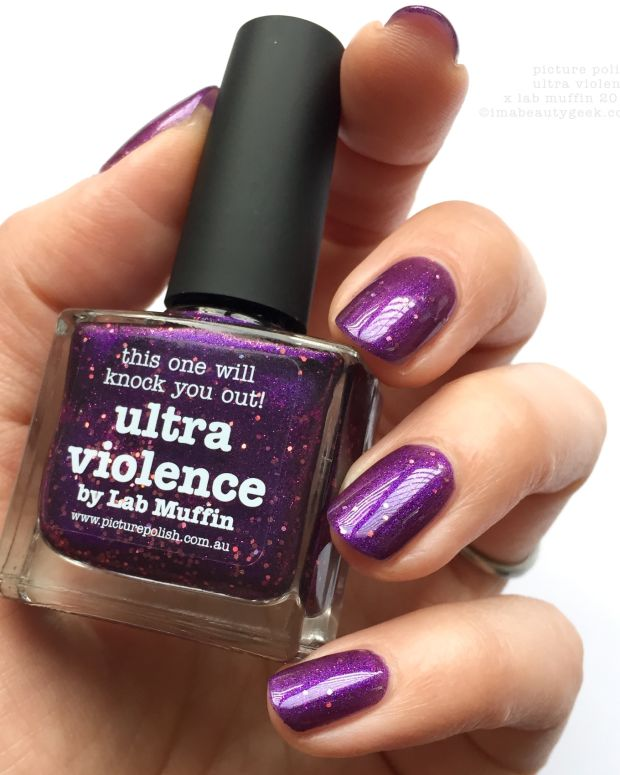Picture Polish Ultra Violence x Lab Muffin 2013 NOTD