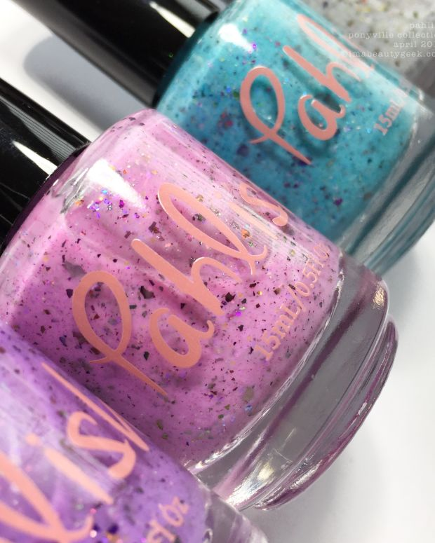 Pahlish Ponyville Collection April 2018 Swatches Review