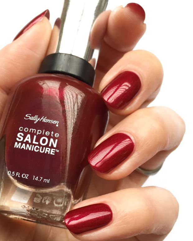 Sally Hansen Berry Chic Collection Swatches Holiday 2017