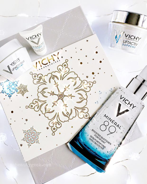 Vichy Skincare Gift Set with Mineral 89 sachet