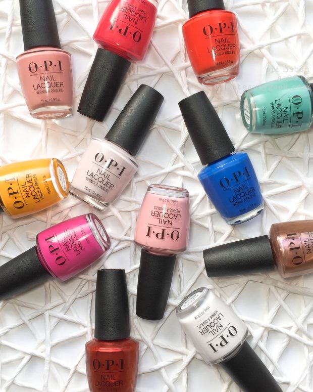 OPI Lisbon Swatches Review 2018 Spring Summer Collection