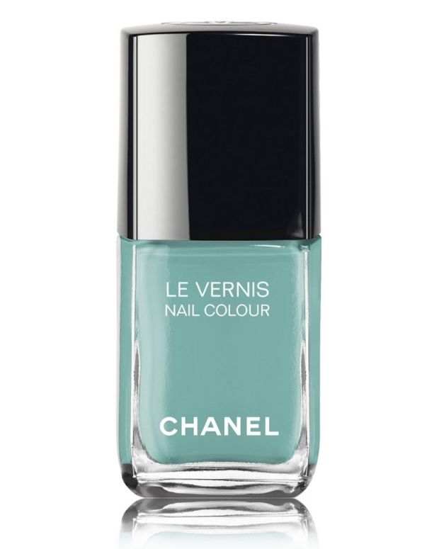 Chanel Verde Pastello 590 Le Vernis _ Chanel Neapolis Swatches 2018