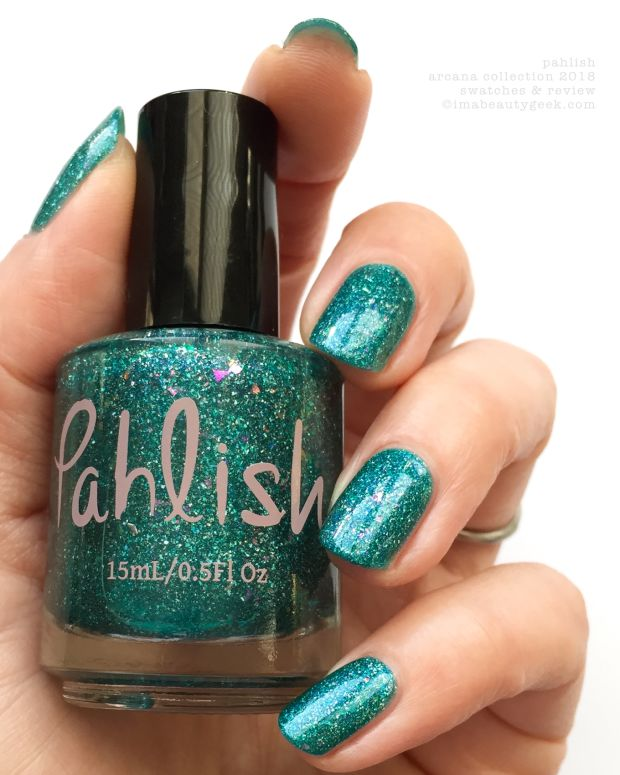 Pahlish Arcana Collection Swatches Review 2018 Ace of Swords
