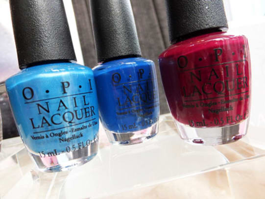 OPI-Fall-2013_Dining-Al-Frisco-frosty-ish-blue_Keeping-Suzi-at-Bay-royal-navy-blue_In-the-Cable-Car-Pool-Lane-rich-burgundy