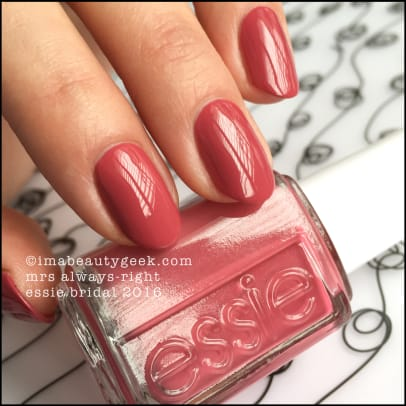 Essie Mrs Always Right_Essie Bridal 2016 Collection Swatches Review.jpg