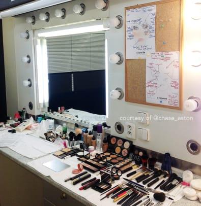 Kate Beckinsale makeup Underworld Blood Wars_makeup trailer Chase Aston.jpg