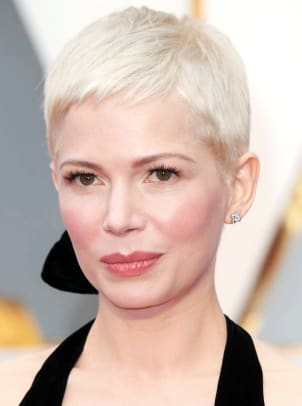 Michelle Williams_Oscars 2017_makeup_Angela Levin