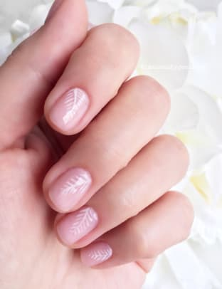 CND Yes I Do bridal collection Shellac nail art