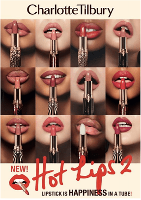 Charlotte Tilbury Hot Lips 2 brand shade art