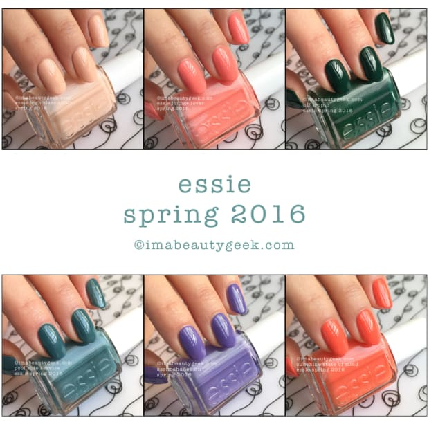 essie spring 2016  the complete manigeek guide
