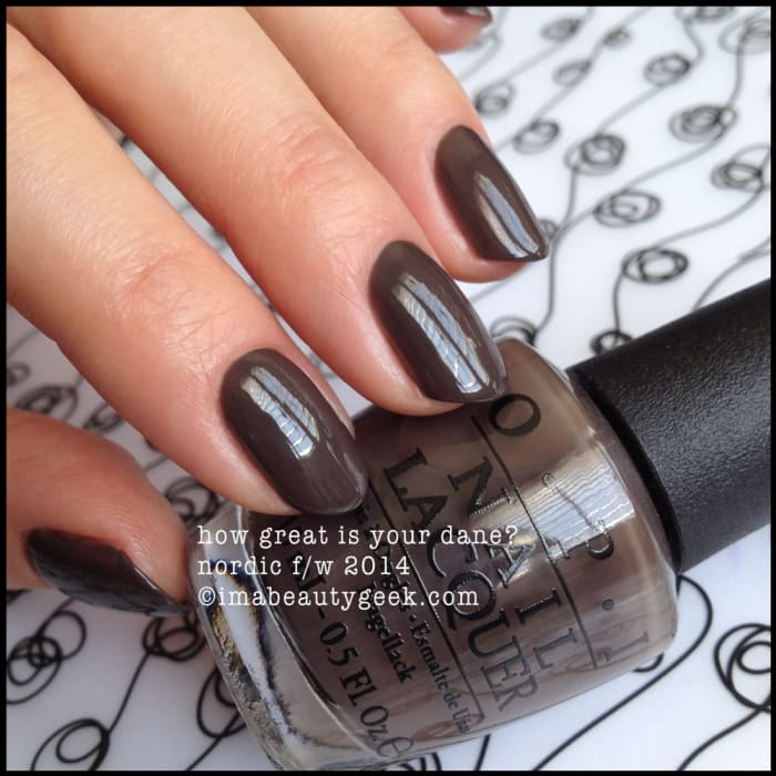 Opi How Great Is Your Dane