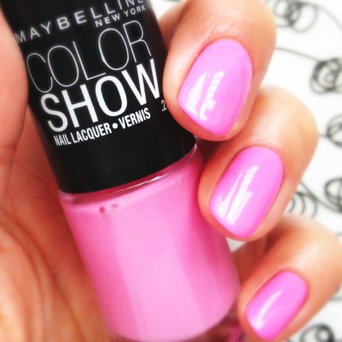 New York Summer Nail Polish: Mani Monday: Pretty In Pink Nail Polish, Late-Summer