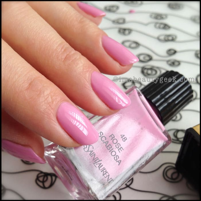 La Looks Nail Polish: YSL Polish: La Laque Couture Spring 2014 + Gorgeous Core