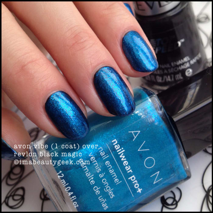 Revlon Black Magic: AVON ELECTRIC SHADES OF NAIL FOR 2015